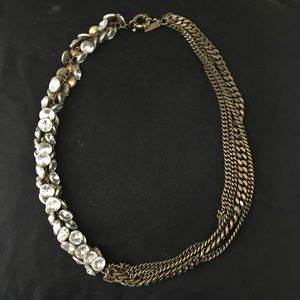 Madewell Crystal Rope Necklace